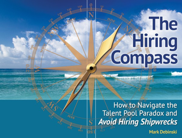 The Hiring Compass book cover